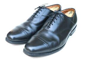 Allen Edmonds Byron Black Leather Cap Toe Oxford Dress Shoe 2004 SZ 13 EEE