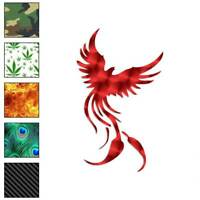 Phoenix Bird Art Decal Sticker Choose Pattern + Size #629