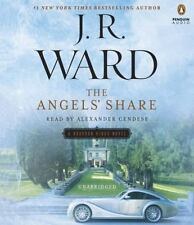 THE ANGELS' SHARE unabridged audio book on CD by J.R. WARD - Brand New! 12 Hours