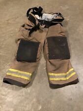 Mfg 2011 Globe Gxtreme 36 X 30 Firefighter Turnout Bunker Pants With Suspenders