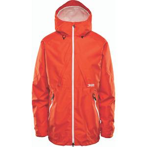 Snowboard Shell Jacket Mens Large Orange Thirtytwo Lashed 2021 32
