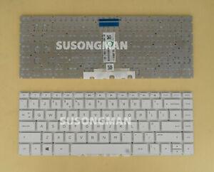New UK For HP home 14-bp059sa 14-bp060na 14-bp060sa 14-bp061na Keyboard White