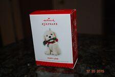 2013 Hallmark Puppy Love Golden Doodle Dog Rope Toy #23 Xmas Keepsake ornament*