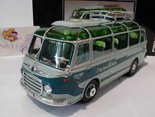 "SCHUCO 08955 - Setra S6 Reisebus "" Kraichgau Falke "" resedagrün-grün 1:32  NEU"