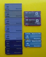 Sony | I-O Data | Lexar Memory Stick MSA 4MB 32MB 64MB 128MB
