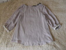 Atmosphere women's top/blouse, size 6, taupe grey, brand new