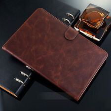 Luxury Retro Leather Smart Stand Card Cover Case For iPad Mini iPad Air1 Air2