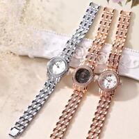 LVPAI Women Fashion Watch Crystal Thin Band Analog Quartz Bracelet Wrist Watches