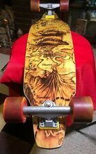 Palisades Drop Thru Treasure Complete Skateboard Bamboo Deck (9.25X39.25-Inch)