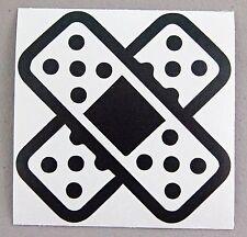"Band Aid cross 4"" (2 pack!) bandage Sticker Decal Vinyl JDM Drift ill window"