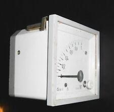Altes Meßgerät Voltmeter ? DDR für Schalttafel 60mV Vintage !