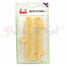 FMM String of Pearls/Bead Cutter -Number ONE- Sugarcraft Cake Decorating Craft