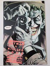 Batman The Killing Joke Graphic Novel 1988 Rare 6Th Printing Alan Moore! Bolland