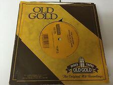 """THE CASCADES - Rhythm Of The Rain SHY GIRL - Old Gold 7"""" 45 - EX/EX/"""