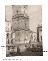 Antica Foto Originale con 2 Scooter PIAGGIO VESPA 125 VN1T Faro Basso Rarità