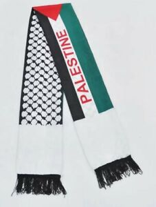 Palestine Flag Scarf / Neck Shemagh / Keffiyeh Fast & Free Postage £10 collected
