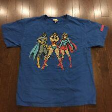 DC Comics Originals T Shirt Mens Size L Wonder Woman Batgirl Supergirl