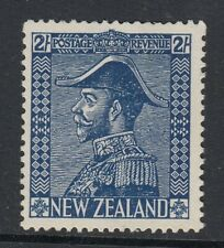 New Zealand 1926 2s Dp Blue SG466 Fine Mtd Mint