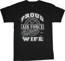 On Sale: Men's XL t-shirt - Air Force wife decal USAF design tee shirt men size