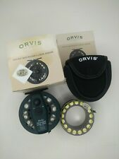 Orvis rocky mountain large arbor IV reel extra spool wonderline 7-s 7-I MADE UK
