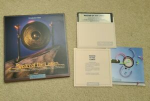 Master Of The Lamps Apple II Series Computer Game Complete 1985 Activision MINT