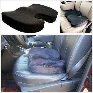 Comfortable Memory Foam Car Seat Cushion Support Mat Coccyx Comfort Sitting Pad