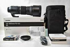 Sigma 150-600mm f/5-6.3 OS HSM DG Contemporary Lens + Docking Station NIKON F