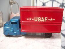 Super Near Mint Vintage 1950's Structo Usaf Metal Toy Box Truck