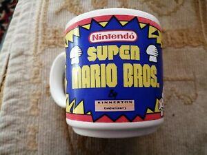 Official Nintendo  Super Mario Bros Mug Cup Mario Vintage