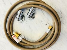 """NEW BROMIC 3M GAS HEATER HOSE 3/8"""" PACKAGE WITH FLOOR FITTINGS"""