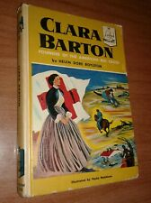 CLARA BARTON by Helen Dore Boylston - 1955 Landmark Book #58 vintage Red Cross