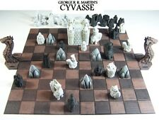 Game of Thrones Cyvasse 3D printed Chess Set