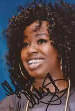 MUSIC: MISHA B SIGNED 6x4 ACTION PHOTO+COA *X FACTOR* *HOME RUN*