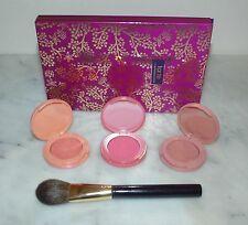 Tarte Leave Her Blushing 4 pc Amazonian Clay 12 Hour Powder Blush Set w/ Brush
