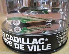 1963 Cadillac Coupe De Ville Custom Cruiser Series Car Oil Can Display Case 1:64