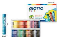 Giotto Pastel artistas Pasteles Jumbo 70mm Palos-Paquete De 48 Colores Vivos