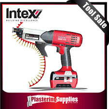 Intex ASG18V Cordless Autofeed Screwgun  Kit  Lithium Ion 3.0Ah 4000RPM