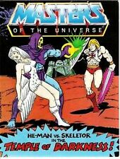 HE-MAN MASTERS OF THE UNIVERSE MOTU MINI COMIC GIVEAWAY PROMO TEMPLE DARKNESS