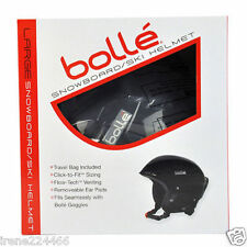 "Bolle Snowboard/Ski Helmet w/travel bag ""click to fit sizing"" Small NIB $80"