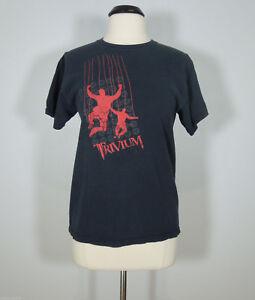 TRIVIUM Band Logo Graphic Print T-Shirt Men's size M