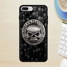 HARLEY DAVIDSON fit for iPhone 5 6 7 8 X XR XS MAX samsung cover case