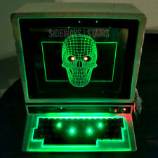 Haunted Computer Halloween Decoration vintage style apple retro pc commodore fun