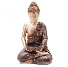 THAI BUDDHA Gold & Copper TEALIGHT HOLDER Home Decor