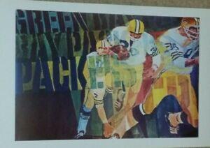 Green Bay Packers Poster - Bart Starr, Paul Hornung, Vince Lombardi, Lambeau