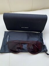 Dolce & Gabbana D&G DG2169 01/75 Smoke Round Sunglasses 48mm MSRP $350