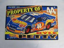 Hot Wheels Kyle Petty #44 Plastic Sign