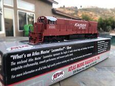HO Atlas GE U30C locomotive Kaiser Steel DCC