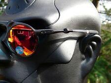 NEW! OAKLEY MADMAN Sunglasses Dark Carbon / Ruby Iridium Polarized OO6019-04