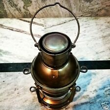 Antique Vintage Maritime Ship Oil Lantern Hanging Lamp Collectible Decor Gift