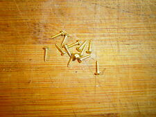 "Gold Truss rod plate Screws #2 1/4"" for Most Guitars  Gibson  Stella Harmony 15"